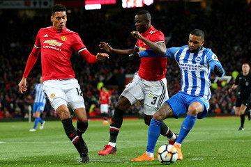 Eric Bailly Manchester United v Brighton & Hove Albion - The Emirates FA Cup Quarter Final