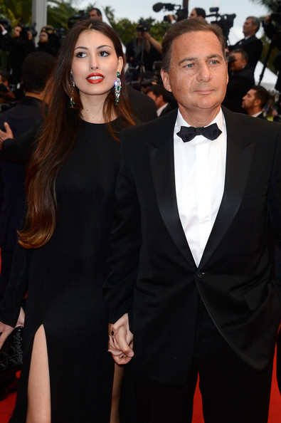 'All Is Lost' Premieres in Cannes [suit,formal wear,tuxedo,red carpet,carpet,premiere,hairstyle,event,fashion,dress,yasmine besson,eric besson,all is lost premiere - the 66th annual cannes film festival,cannes,france,palais des festivals,cannes film festival]