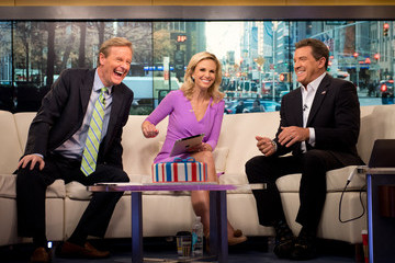 Eric Bolling Elisabeth Hasselbeck Returns to 'Fox & Friends'