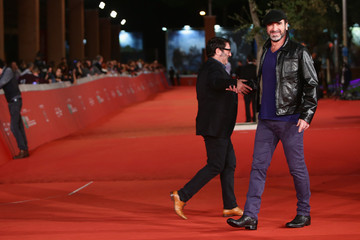 Eric Cantona 'Mad Kings' Red Carpet  - The 10th Rome Film Fest