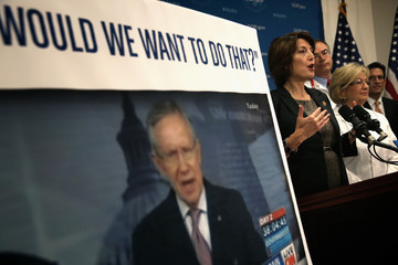 Eric Cantor Cathy McMorris Rodgers House GOP Discusses Health Care Priorities and Funding