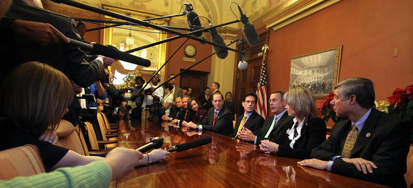 House Speaker Boehner And GOP Leaders Discuss Payroll Cut Extension []