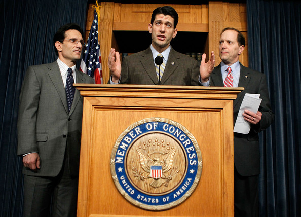 Reps. Cantor, Pence And Others Discuss Health Care Bill []