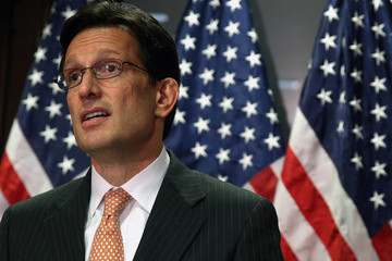 Eric Cantor House GOP Leadership Addresses the Press
