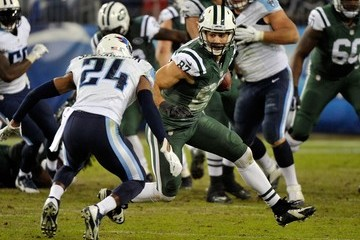 Eric Decker New York Jets v Tennessee Titans