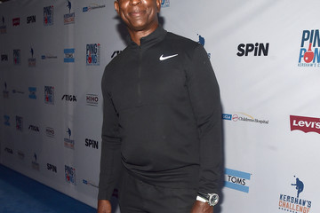 Eric Dickerson Clayton Kershaw's 6th Annual Ping Pong 4 Purpose