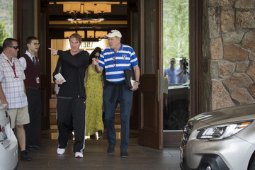 Eric Eisner Annual Allen And Co. Meeting In Sun Valley Draws CEO's And Business Leaders To The Mountain Resort Town