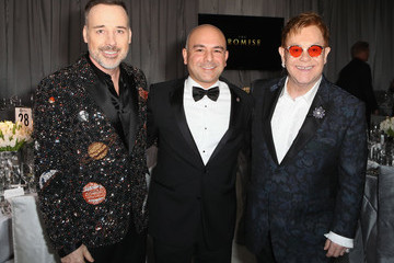 Eric Esrailian 25th Annual Elton John AIDS Foundation's Oscar Viewing Party - Inside