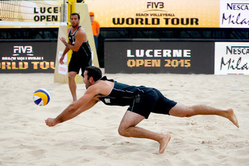 Eric Haddock FIVB Lucerne Open - Day 3