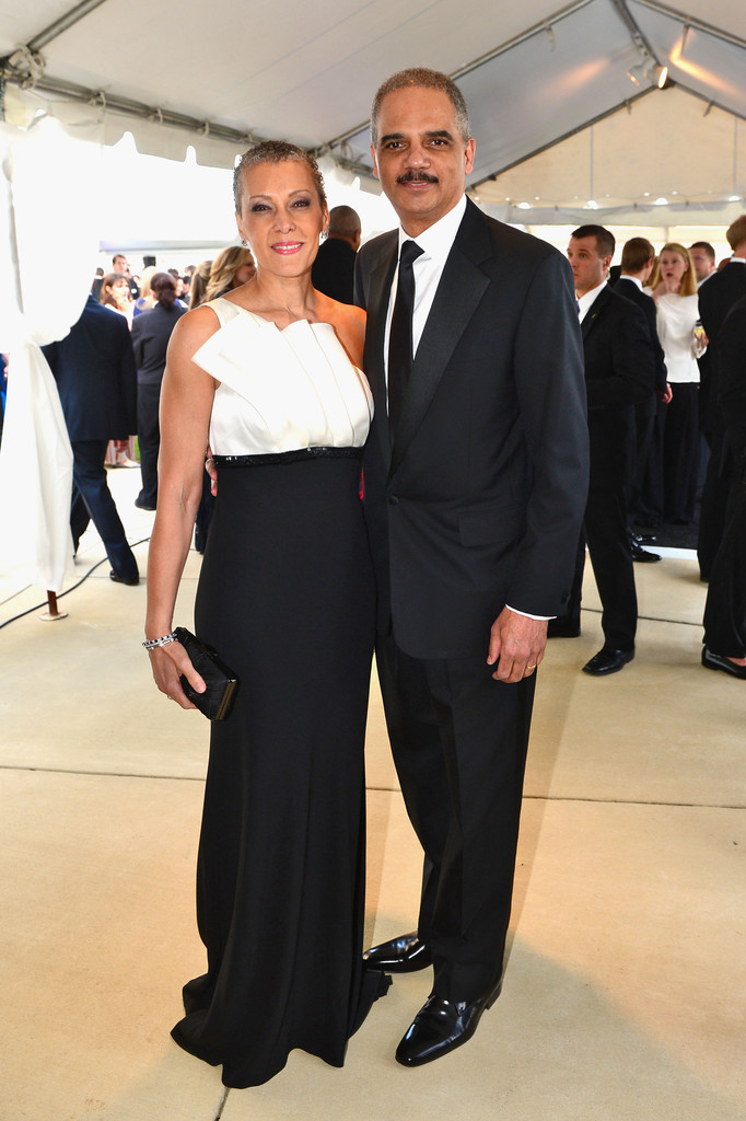 Eric Holder with Wife Sharon Malone