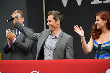 Eric McCormack 'Will & Grace' Ribbon Cutting Ceremony