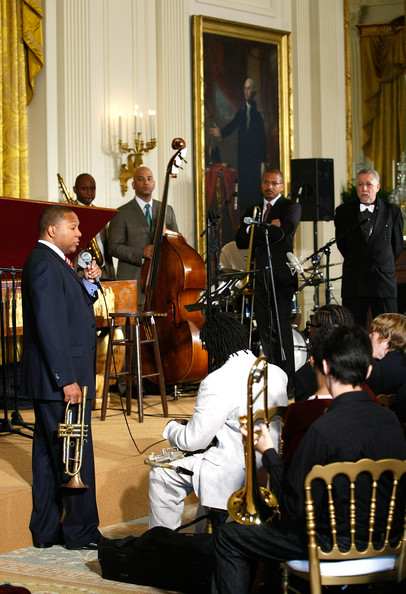 First Lady Michelle Obama Hosts Jazz Studio At White House