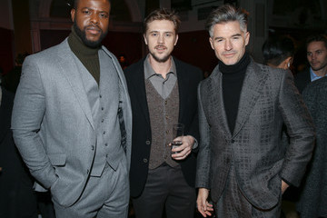 Eric Rutherford Joseph Abboud - Front Row - February 2018 - New York Fashion Week Mens'