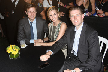 Eric Trump GREY GOOSE Vodka Hosts The Carolina Herrera Fashion Show At The Cadillac Championship