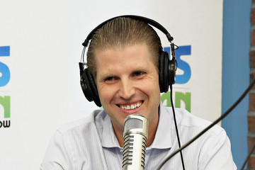 Eric Trump Eric Trump Visits 'The Elvis Duran Z100 Morning Show'