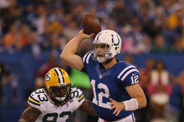 Eric Walden Green Bay Packers v Indianapolis Colts