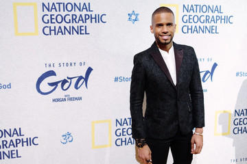 Eric West National Geographic 'The Story of God' with Morgan Freeman World Premiere