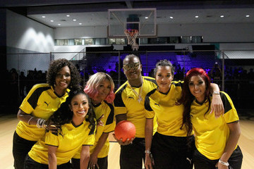 Erica Mena 2018 BET Experience - Celebrity Dodgeball Game