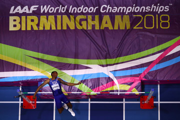 Erik Kynard IAAF World Indoor Championships - Day One