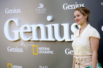 Erika Christensen National Geographic's Premiere Screening of 'Genius' in Los Angeles