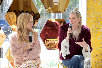 Erin Foster A Day Of Style With Designer Rachel Zoe At Bumble Hive