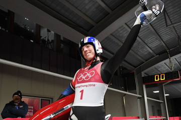 Erin Hamlin Luge - Winter Olympics Day 4
