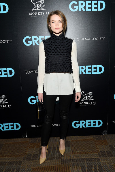 "Sony Pictures Classics & The Cinema Society Host A Special Screening Of ""Greed"" [sony pictures classics the cinema society host a special screening of ``greed,sony pictures classics the cinema society special screening of ``greed,clothing,fashion,shoulder,footwear,joint,street fashion,outerwear,electric blue,shoe,carpet,erin richards,new york city,cinepolis chelsea,celebrity,socialite,carpet]"