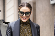Olivia Palermo attends Ermanno Scervino - Street Style - Milan Fashion Week 2019 on February 23, 2019 in Milan, Italy.