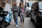 Anna dello Russo attends Ermanno Scervino  Street Style - Milan Fashion Week 2019 on February 23, 2019 in Milan, Italy.