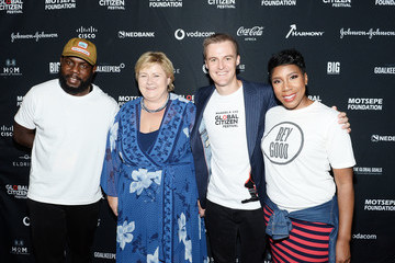 Erna Solberg Global Citizen Festival: Mandela 100 - VIP Lounge