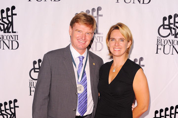 Ernie Els with cool, beautiful, Wife Liezl Els