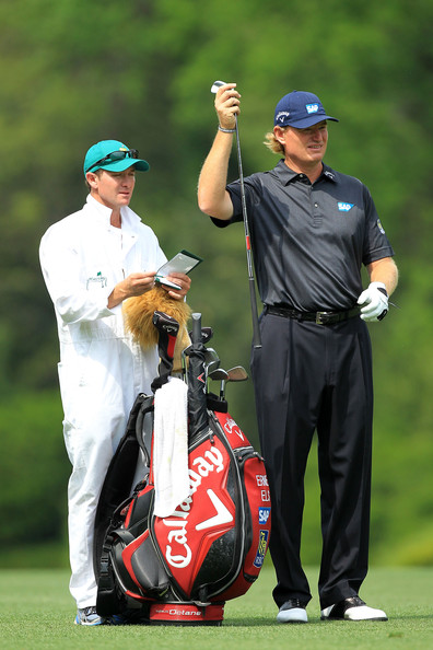 09775b37f8513 Ernie Els and Mike Kerr Photos Photos - The Masters - Round Two - Zimbio
