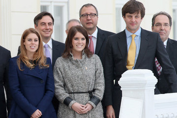 Ernst August of Hanover Princess Beatrice And Princess Eugenie Of York Visit Hanover During The GREAT Britain MINI Tour