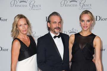 Estelle Lefebure 2015 Princess Grace Awards Gala With Presenting Sponsor Christian Dior Couture