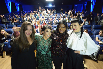 Ester Dean Cast of 'Pitch Perfect 3,' Hana Mae Lee, Chrissie Fit and Ester Dean Attend Q+A