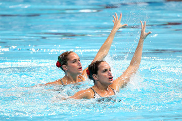 Etel Sanchez Synchronised Swimming - 16th FINA World Championships: Day Four