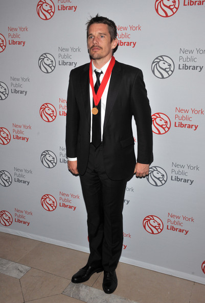 Ethan Hawke Actor Ethan Hawke attends the 2010 Library Lions Benefit at The New York Public Library on November 1, 2010 in New York City.