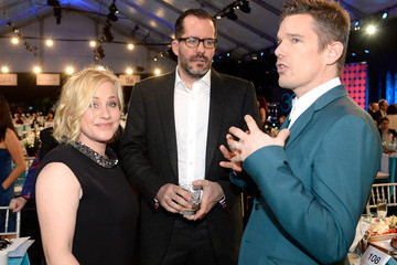 Ethan Hawke Patricia Arquette 2015 Film Independent Spirit Awards - Backstage And Audience
