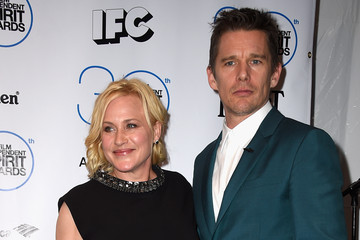 Ethan Hawke Patricia Arquette 2015 Film Independent Spirit Awards - Press Room
