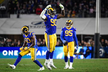 Ethan Westbrooks Divisional Round - Dallas Cowboys v Los Angeles Rams