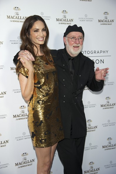"Eugenia Silva Photographer Albert Watson and Spanish model Eugenia Silva attend ""Master of Photography"" exhibition at Galileo Theater on June 8, 2011 in Madrid, Spain."
