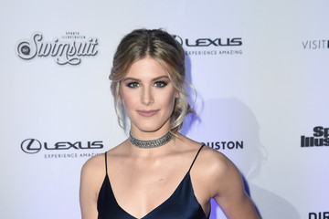 Eugenie Bouchard Sports Illustrated Swimsuit 2017 NYC Launch Event