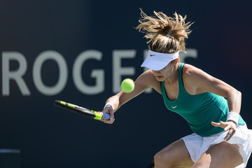 Eugenie Bouchard Rogers Cup Montreal - Day 2
