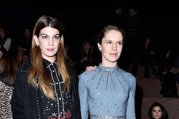 Eugenie Niarchos Valentino : Front Row  - Paris Fashion Week Womenswear Fall/Winter 2016/2017
