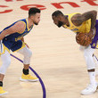 LeBron James and Stephen Curry Photos