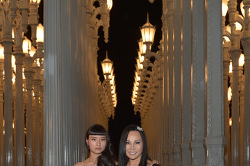 Eva Chow Asia Chow LACMA 2013 Art + Film Gala Honoring Martin Scorsese And David Hockney Presented By Gucci - Inside