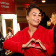 Eva Gutowski The American Heart Association's Go Red For Women Red Dress Collection 2020 - Backstage