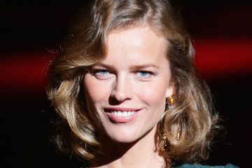 Eva Herzigova D&G - Front Row - Milan Fashion Week Womenswear Spring/Summer 2015