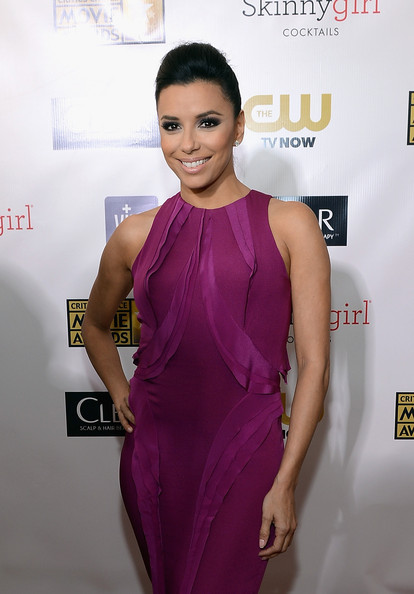 Eva Longoria - 18th Annual Critics' Choice Movie Awards - Red Carpet