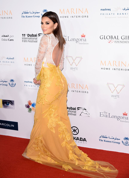 Eva Longoria Eva Longoria attends the Global Gift Gala during day five of the 11th Annual Dubai International Film Festival held at White Dubai on December 14, 2014 in Dubai, United Arab Emirates.